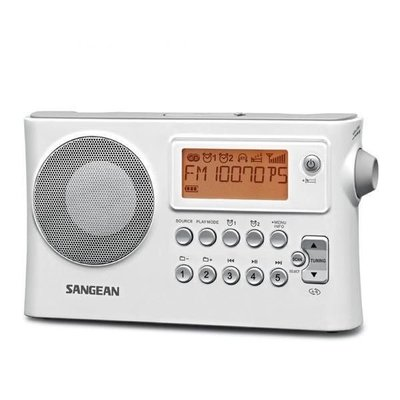 【阿嚕咪電器行】SANGEAN山進二波段 調頻 /  調幅 /  USB數位式時鐘收音機PR-D14USB公司貨 台北市