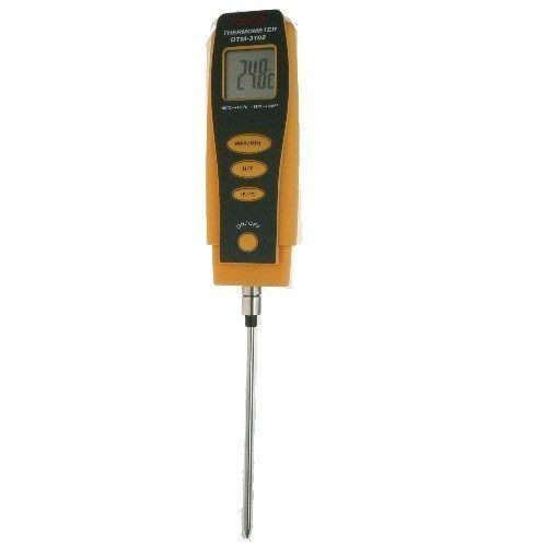 TECPEL 泰菱 》DTM3102 探針式溫度計/長針式電子溫度計 -50 °C ~ + 300°C DTM-3102
