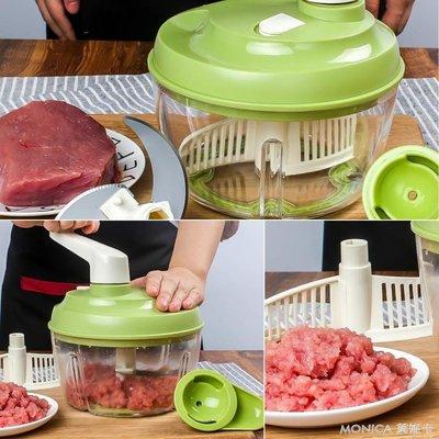碎肉機 家用手動絞肉機餃子餡絞菜寶寶輔食機手搖碎菜機手工碎肉機