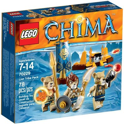 全新現貨 70229 LEGO Legends of Chima LegoLion Tribe Pack