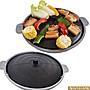 【御品生活】WASHAMl- 鑄鐵韓式燒烤盤(烤盤+...