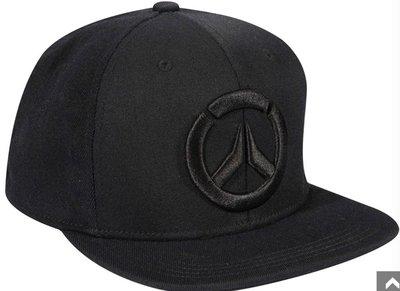 【丹】J!NX_OVERWATCH BLACKOUT SNAP BACK HAT 鬥陣特攻 鬥陣特攻標示 黑色 帽子