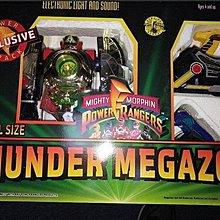 (全新)Bandai 恐龍戰隊 可變型發聲機械人  (Power Rangers) Thunder Megazord Special Size
