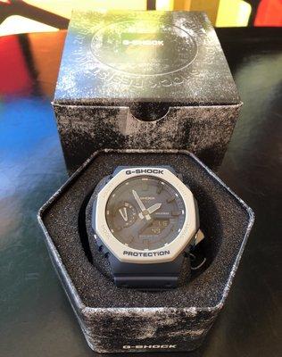 銀灰全新 CASIO 卡西歐 G-Shock GA-2110ET-2AJF 手錶 碳纖維