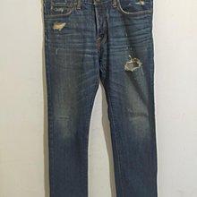 Abercrombie&Fitch直筒牛仔褲