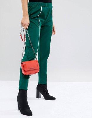 【-Sin-海外代購】Armani Exchange 阿曼尼 紅色亮面 斜肩背 手提兩用小包包