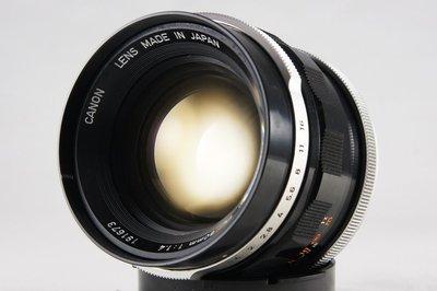 **日光銀鹽** Canon Lens FL 50mm F1.4 #673
