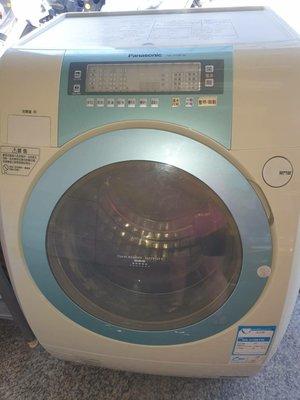 新竹二手家具 總店來來-變頻-國際14公斤洗+脫 滾筒式洗衣機-新竹搬家公司-竹北|頭份-2手家電買賣-實木 餐桌椅-沙發-茶几-衣櫥-床架-床墊-冰箱-洗衣機