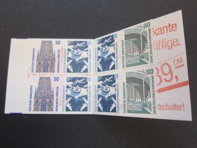 【雲品四】德國Germany 1989 Sc 1528a Booklet MNH 庫號#B523 83385