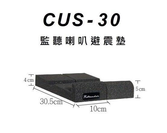 【六絃樂器】全新 Stander CUS-30 監聽喇叭防震墊 避震墊 隔離墊 / 工作站錄音室 專業音響器材