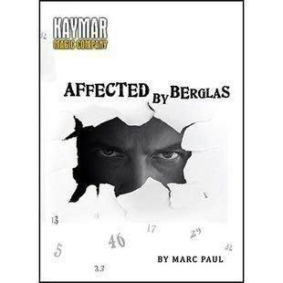 【意凡魔術小舖】Affected by Berglas by Mark Paul 最接近原版的巴格拉斯