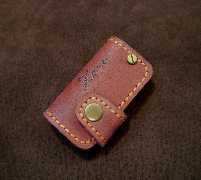 (KH手工皮革工作室)GOLF-7 BEETLE TIGUANT 德國 福斯 摺疊鑰匙皮套配色自選免費燙字