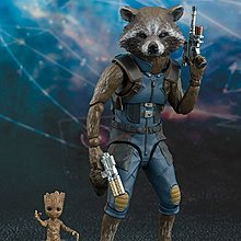 S.H.Figuarts 銀河守護隊 SHF Guardians of Galaxy 2 Rocket Groot 小樹人 Avengers 復仇者聯盟