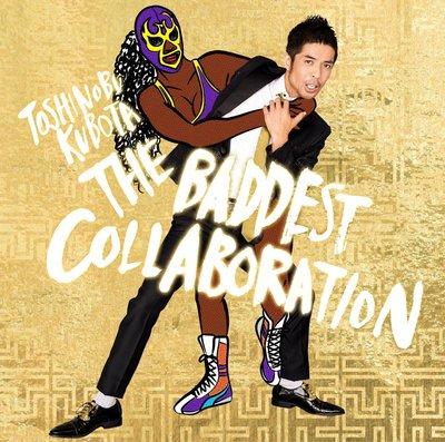 代購 久保田利伸 Toshinobu THE BADDEST ~Collaboration~ 初回生産限定盤 DVD付