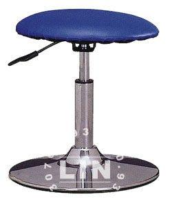 【品特優家具倉儲】R449-05吧台椅圓墊電鍍吧台椅櫃檯椅