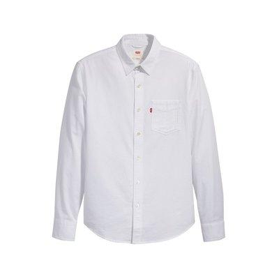 全新 Levis 全白長袖襯衫