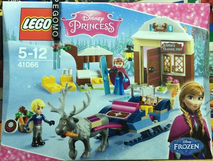 【痞哥毛】LEGO 樂高 41066 迪士尼公主系列 冰雪奇緣Anna&Kristoffs全新未拆