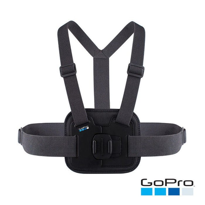 [穩特固] GoPro CHESTY 胸前綁帶 AGCHM-001(公司貨)