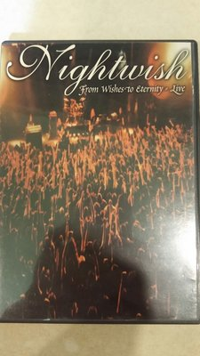 正版 Nightwish - From Wishes To Eternity: Live 演唱會DVD