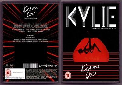 音樂居士#Kylie Minogue - Kiss Me Once Live At The SSE () DVD