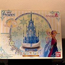 Bandai Disney Frozen 3D castle 發光城堡