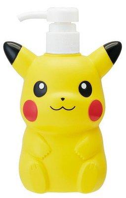 4165本通 寶可夢Pokémon 皮卡丘造型塑膠洗髮精罐(480ml) 4973307469640 下標前請詢問