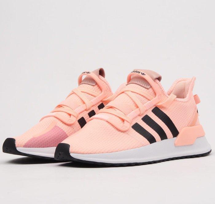 Washoes adidas Originals U_PATH RUN W 粉橘 黑 G27996 慢跑鞋 女鞋04