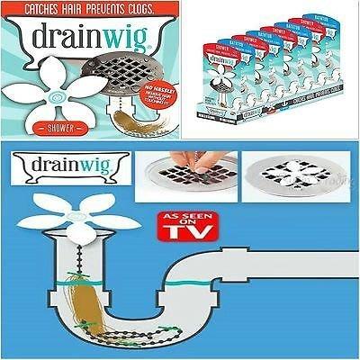 現貨【杜姐生活館】全新drain wig排水管清理器 管道疏通器 水槽防堵清潔鉤 (OPP袋裝10入/組)