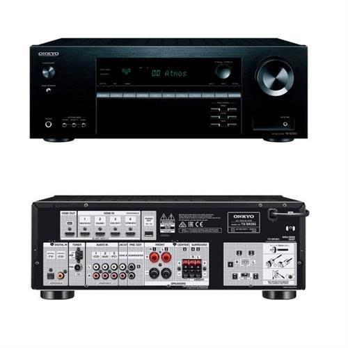 台北推薦音響店 ONKYO 安橋 TX-SR393 5.2 聲道影音環繞擴大機 全新公司貨保固《 贈4K HDMI》