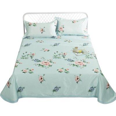夏季涼席三件套1.5m1.8米床非冰絲席子可摺疊可水洗床單空調軟席Y-優思思
