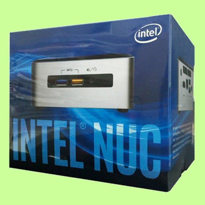 5Cgo【權宇】單賣主機板Intel NUC 便當盒大小第6代 i5-6260U NUC6i5SYH(2.5吋硬碟)含稅