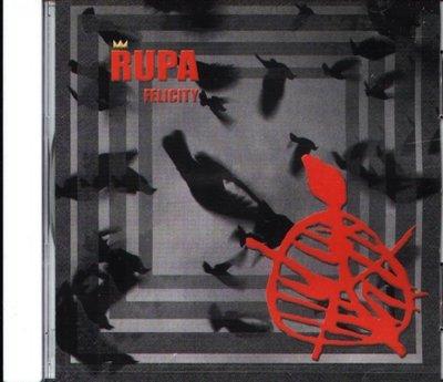 八八 - RUPA - FELICITY - CD - NEW   SCCD-0201