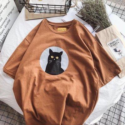 現貨/情侶裝2018夏裝新款正韓bf風短袖T恤女學生寬鬆半袖上衣班服16SP5RL/ 最低促銷價
