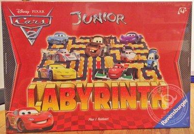 骰子人桌遊-百變迷宮 汽車總動員版(幼兒版.入門版)Junior Labyrinth Disney Cars 2
