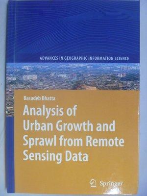 【月界】Analysis of Urban Growth and Sprawl from ..Data〖大學社科〗AGT
