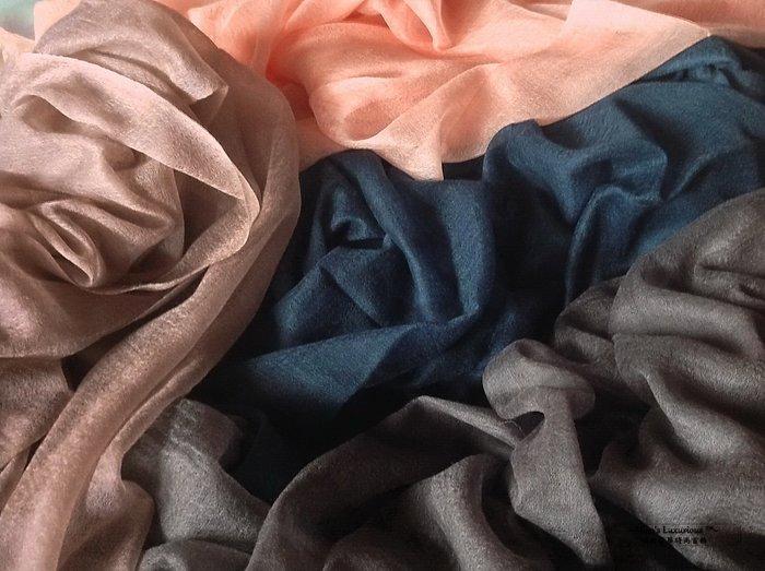 珍稀Baby系列™-100% Pure Baby Shamina Pashimina Cashmere喀什米爾圍巾四色選