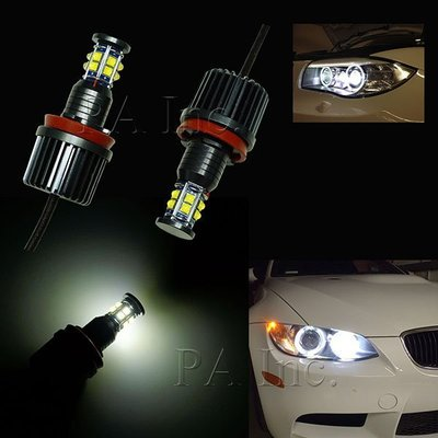 【PA LED】BMW H8 超高亮度 120W LED 大燈光圈/天使眼 E81/E82/E87/E88 1系列