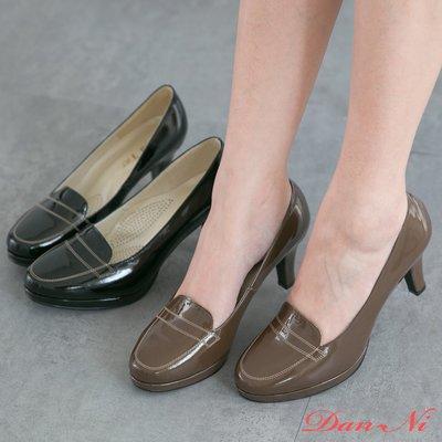 上班鞋 舒壓超穩防水台個性高跟鞋 台灣手工鞋 丹妮鞋屋