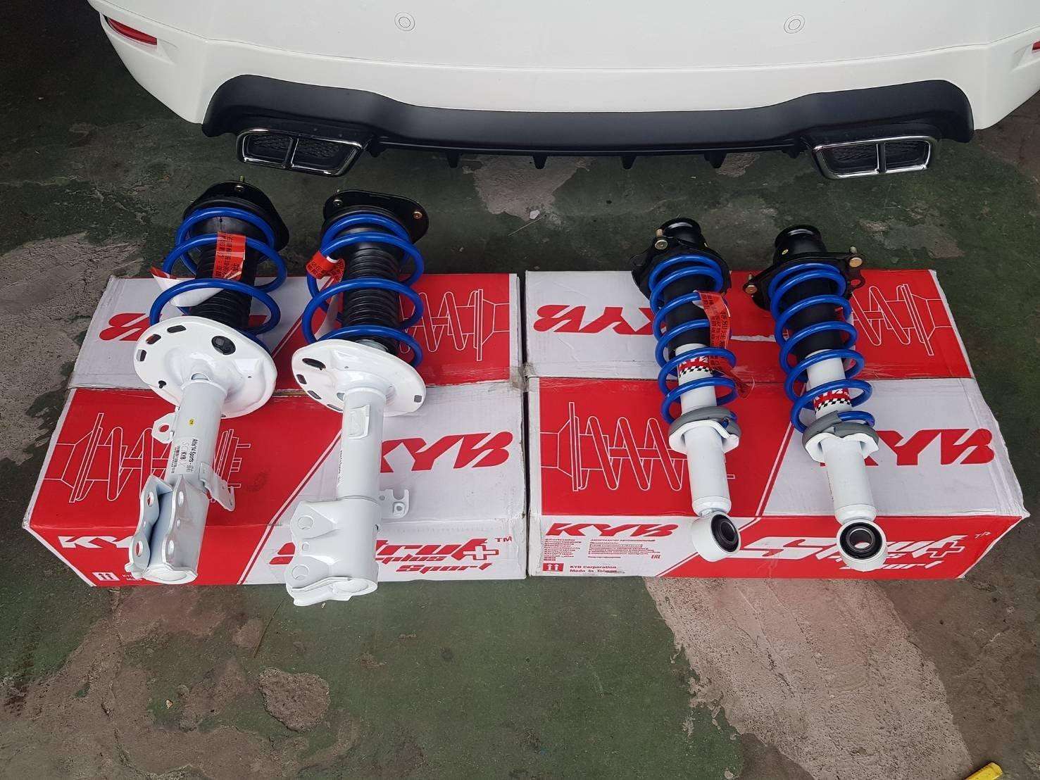 【童夢國際】KYB Strut Plus Sport 白桶 總成運動版避震器 ALTIS WISH SIENTA