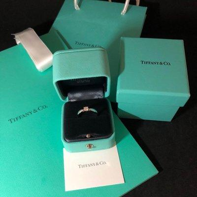 感謝收藏《三福堂國際珠寶1223》Tiffany Harmony™ 訂婚戒指( I VVS2 3EX) 0.25CT