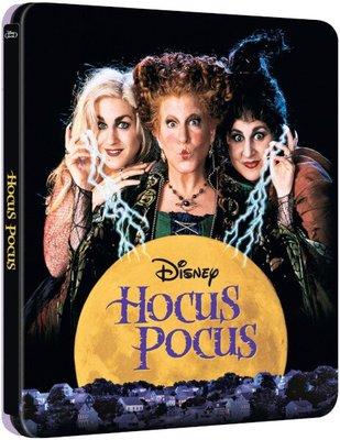 毛毛小舖--藍光BD 女巫也瘋狂 限量鐵盒版 Hocus Pocus