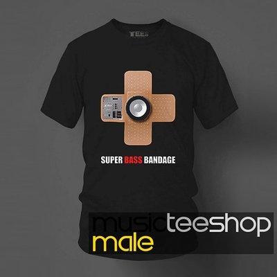 【電音系列】【Super Bass Bandage】短袖T恤(男生版.女生版皆有) 新款上市專單進貨!