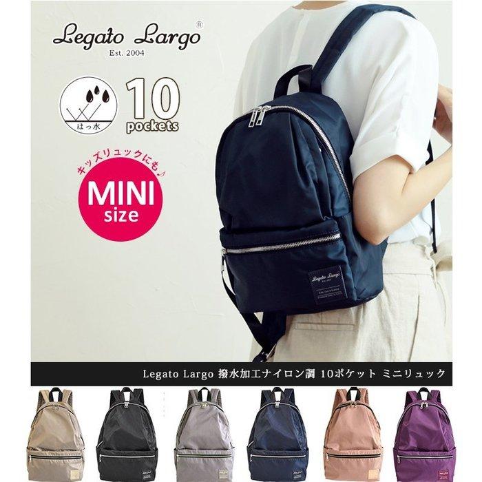 10口袋 後背包 尼龍後背包 背包 媽媽包 拉鍊後背包 包包 防潑水 女包 小款