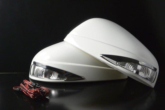 金強車業 LUXGEN U6 2014-ON  改裝後視鏡殼 (素材NP) 單功能側燈 方向燈 日行燈