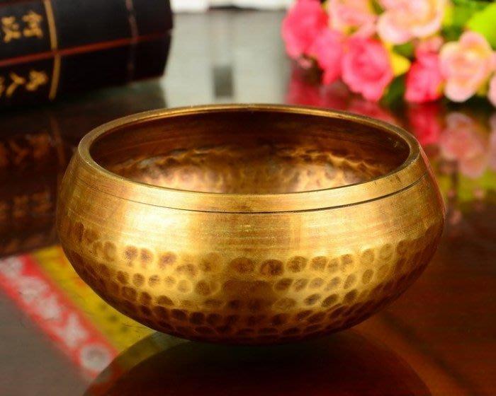 【弘慧堂】 開光法器尼泊爾佛音缽 瑜伽冥 麒麟紋頌缽轉經碗銅磬  麒麟紋銅磬