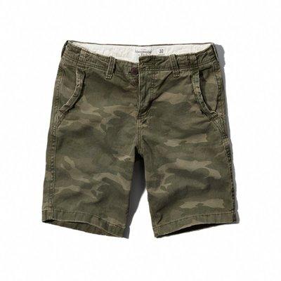 🇺🇸 A&F Cargo Shorts  重磅迷彩工作短褲(30) Hollister