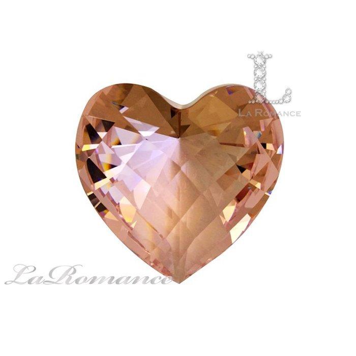 【芮洛蔓 La Romance】璀璨心型水晶鑽 – 粉色 / 粉賺 / 招財 / 招桃花、愛情 / 求婚 / 情人節