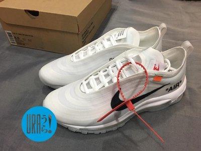 """【URA 現貨】Nike x Off White Air Max 97 """" The Ten """" 果凍底 全氣墊"""