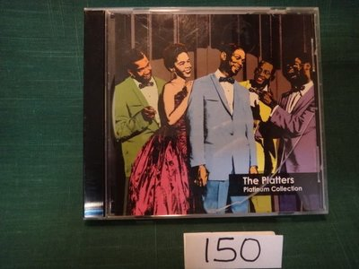 【愛悅二手書坊 CD-A2B】The Platters - Platinum Collection