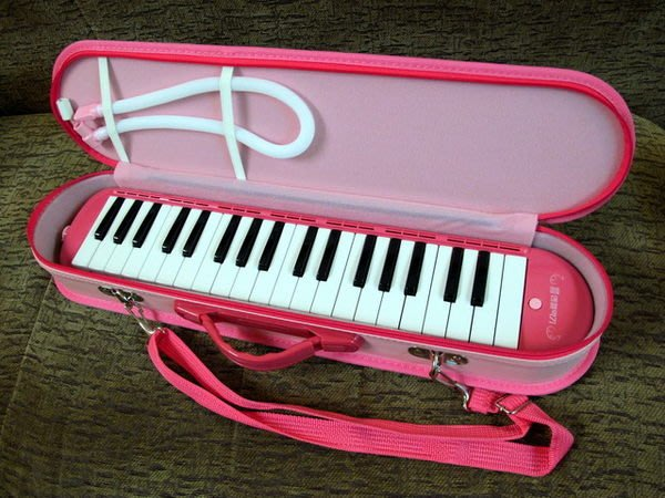 ☆ 唐尼樂器︵☆韓國 Angel 37鍵口風琴(學校指定用款)附肩背提袋琴盒及雙吹嘴(粉紅色/粉藍色)